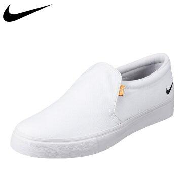 ナイキ NIKE CD5460-100 メンズ靴 2E相当 メンズスニーカー コート ロイヤル AC SLP スリッポン 軽量 大きいサイズ対応 ホワイト SP