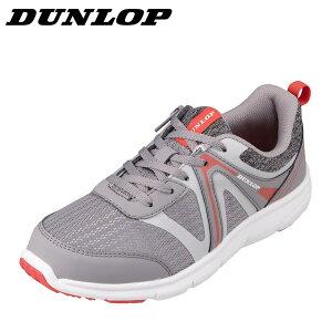 ダンロップ DUNLOP DC422 レディース靴 靴 シューズ 4E相当 スポーツシューズ ウォーキングシューズ 幅広 4E 軽量 軽い クッション性 グレ− SP