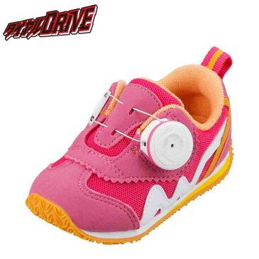 [マラソン期間中ポイント5倍][ダイヤルドライブ] ダイヤルDRIVE R47104-70 ベビー キッズ | ベビーシューズ キッズスニーカー | ワイヤーロック式 洗えるインソール | 子供靴 ファーストシューズ | プレゼント ギフト | ピンク SP