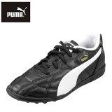 プーマPUMA10334401キッズジュニア|トレーニングシューズ|プーマクラシコTTJRサッカーシューズ|軽量ターフトレーニング|子供靴ジュニアシューズ|ブラック×ホワイト