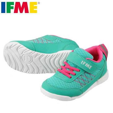 [イフミー] IFME 22-7202 キッズ・ジュニア   キッズ スニーカー   軽量 コートタイプ   幅広 ゆったり   子供靴 女の子   ミント TSRC