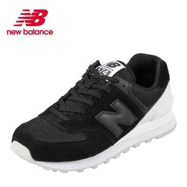ニューバランス new balance スニーカー ML574WAD メンズ 靴 靴 シューズ D相当 ランニングシューズ カジュアル スニーカー トレーニング ジム スポーツ 大きいサイズ対応 28.0cm ブラック TSRC