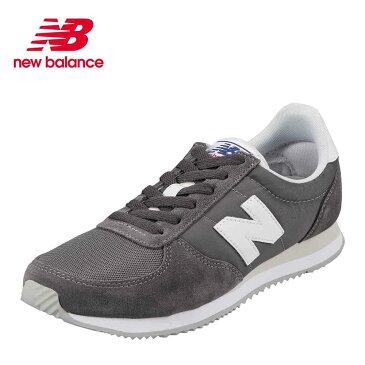 ニューバランス new balance スニーカー U220GYD メンズ 靴 シューズ D相当 ランニングシューズ カジュアル スニーカー トレーニング ジム スポーツ 大きいサイズ対応 28.0cm グレー TSRC