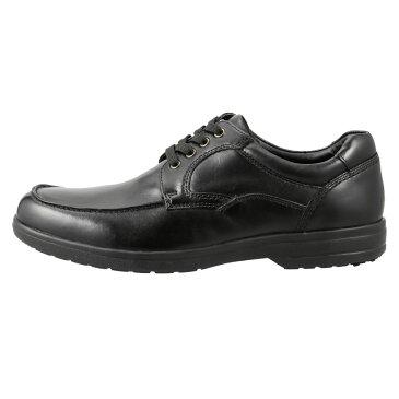 フレッシュゴルフ Fresh Golf コンフォートシューズ FG735 メンズ靴 靴 シューズ 4E相当 カジュアルシューズ 本革 軽量 幅広 ローカット レースアップ 小さいサイズ対応 24.5cm ブラック TSRC