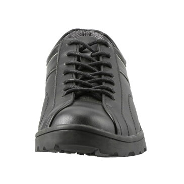 ツアーステージ TOURSTAGE スニーカー TS17002 メンズ靴 靴 シューズ 3E相当 ローカットスニーカー カジュアルシューズ レースアップ 幅広 ゆったり ブラック TSRC