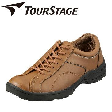 ツアーステージ TOURSTAGE スニーカー TS17002 メンズ靴 靴 シューズ 3E相当 ローカットスニーカー カジュアルシューズ レースアップ 幅広 ゆったり キャメル TSRC