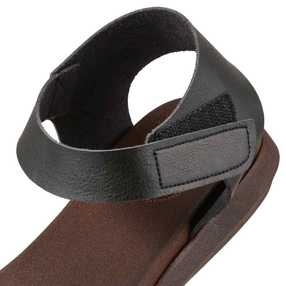 ヘップ HEP サンダル MD18733 レディース靴 靴 シューズ 2E アンクルストラップ サンダル 日本製 国産 ウレタンソール フラット ぺたんこ 歩きやすい 大きいサイズ対応 24.5cm 25.0cm ブラック TSRC