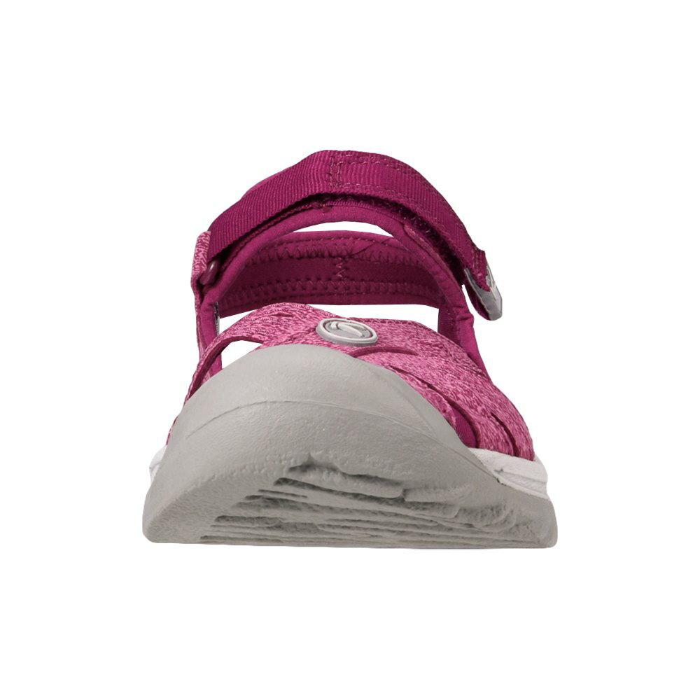 [マラソン期間中ポイント5倍]キーン KEEN レディース サンダル 1018502 ROSE SANDAL ローズ スポーツサンダル レディース靴 靴 シューズ スポサン 軽量 アウトドア キャンプ レジャー フェス ウォーターシューズ ブランド 人気 大きいサイズ対応 パープル TSRC