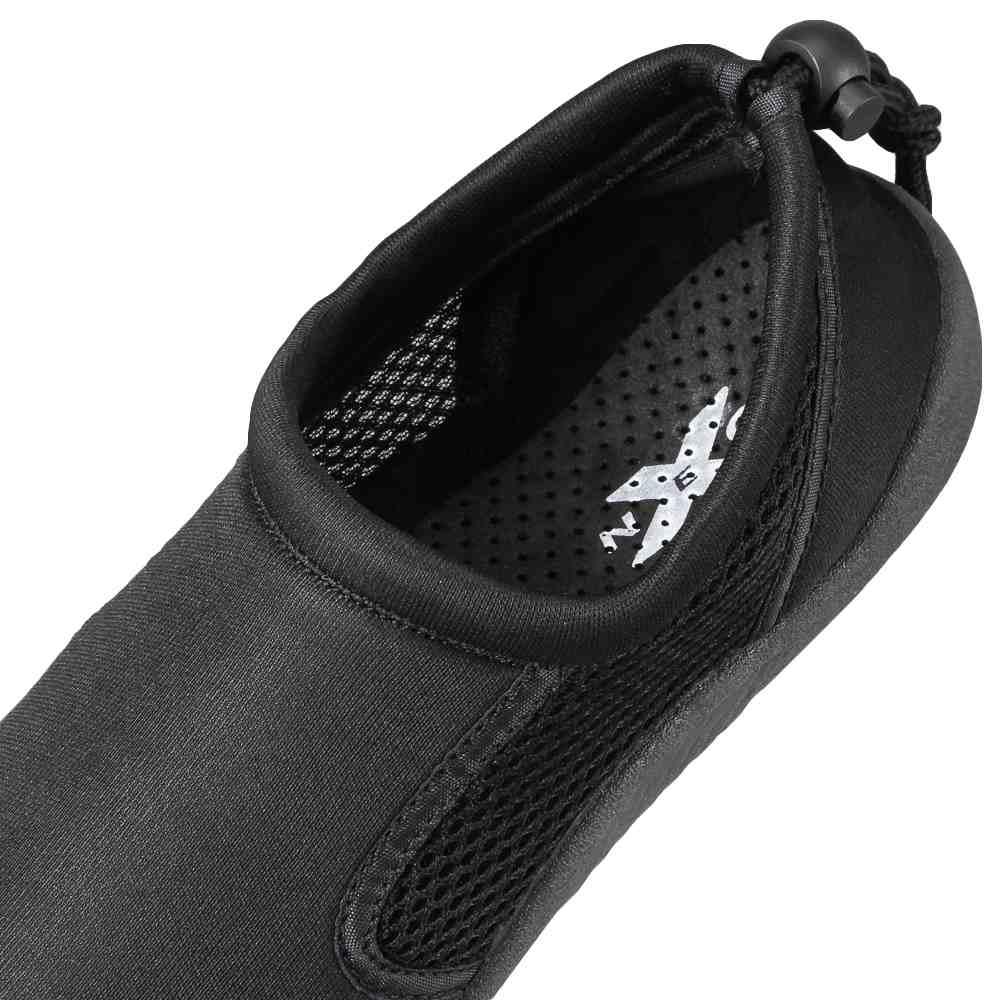 ネクソ NEXO サンダル NX-2015W レディース靴 靴 シューズ 2E相当 モックシューズ アクアシューズ スリッポン 履きやすい メッシュ アウトドア 水陸両用 レジャー 水抜きソール ブラック×ブラック TSRC