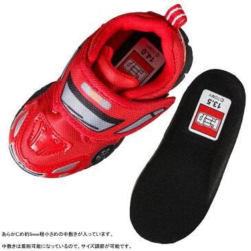 トミカ TOMICA TO10617B ベビー靴 2E相当 ベビーシューズ 軽量 ハイパーレスキュー車 人気 乗り物 レッド TSRC