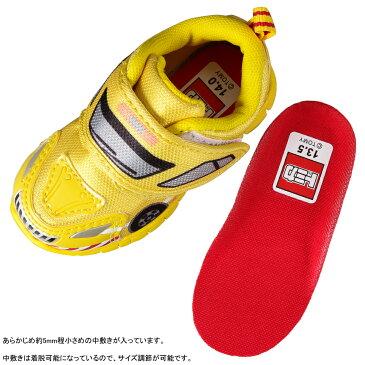 トミカ TOMICA TO10616B ベビー靴 2E相当 ベビーシューズ 軽量 道路パトロールカー 人気 乗り物 イエロー TSRC