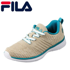 フィラ FILA FCY-5207W レディース靴 3E相当 ランニングシューズ Tenerezza ローカットスニーカー スポーツ ジム 大きいサイズ対応 ベージュグリーン TSRC