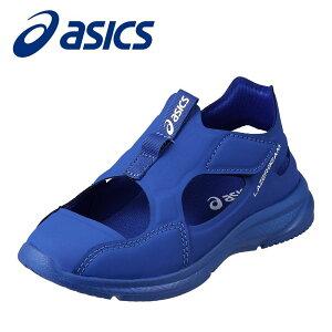 アシックス asics 1154A041 キッズ靴 2E相当 キッズ ジュニアスニーカー 軽量 サンダル風 人気 ブランド ブルー×ホワイト TSRC