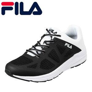 フィラ FILA FC-2210 メンズ靴 3E相当 スニーカー ランニングシューズ ペディーピロー インソール Futuro2 大きいサイズ対応 ブラック TSRC