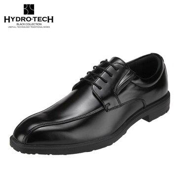 ハイドロテック ブラックコレクション HYDRO TECH HD1421 メンズ靴 3E相当 ビジネスシューズ 防水 防滑 吸湿 放湿 靴内快適 大きいサイズ対応 ブラック TSRC
