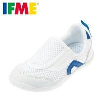 イフミーIFMESC-0002キッズ・ジュニアスクールシューズ上履き上靴メッシュインソール付き子供靴通気性ブルー★お取り寄せ★