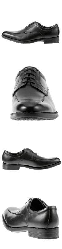 ハイドロテック・ウルトラライトHYDRO-TECHULTRALIGHTモカHD1311メンズ軽量ビジネスシューズ通勤靴本革仕様ロングノーズ幅広3EモカシンUモカブラック