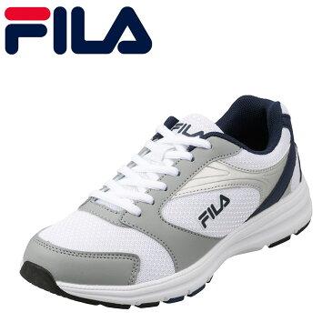 フィラ FILA スニーカー FRU-112W cratere W レディース靴 靴 シューズ 3E ランニングシューズ スポーツ スニーカー ローカット レディーススニーカー ウォーキング ジョギング ジム カジュアル スポーティ ファッション おしゃれ ホワイト×ネイビー TSRC