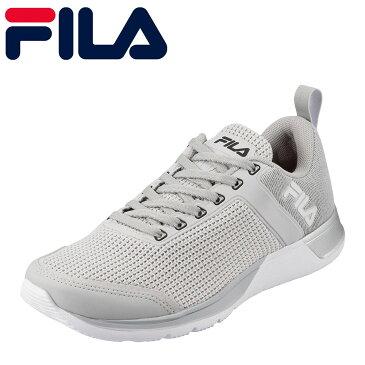 フィラ FILA スニーカー FTR-109 FXT CROSS53 メンズ靴 靴 シューズ 3E ランニングシューズ スポーツ スニーカー ローカット メンズスニーカー ウォーキング ジョギング ジム カジュアル スポーティ おしゃれ 大きいサイズ対応 28.0cm 29.0cm グレー TSRC