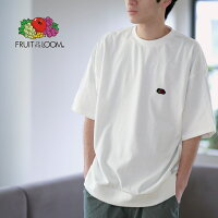 FRUITOFTHELOOMBLACKEDITIONHEAVYTシャツ(胸ワッペン)