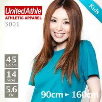 UnitedAthle(��ʥ��ƥåɥ�����)��Ⱦµ̵�ϣԥ����5.6oz.���֥롼�������100cm��160cm