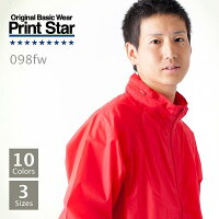 Printstarフードインウインドブレーカー