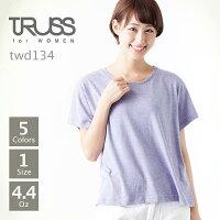 TRUSS(トラス):トライブレンドワイドTシャツ:M