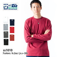 Touch&GO(タッチアンドゴー):ロングスリーブTシャツ6.5oz:Jr.S〜3XL