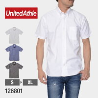 UnitedAthle(ユナイテッドアスレ)|オックスフォードボタンダウンショートスリーブシャツ