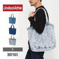 UnitedAthle(ユナイテッドアスレ)|デニムラージトートバッグ