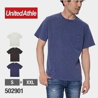 UnitedAthle(ユナイテッドアスレ)|5.6オンスピグメントダイTシャツ(ポケット付)