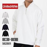 UnitedAthle(ユナイテッドアスレ)|10.0オンスT/Cハーフジップスウェット