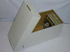 レコードシングル保管用(EP)カートンボックス(白)(未組み立て)2