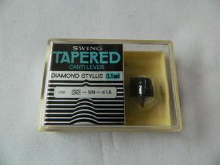 レコード, その他 SWING TAPERED CANTI LEVER DIAMOND STYLUS 0.5mil Q SD-SN-41A