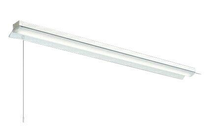 三菱電機 施設照明LEDライトユニット形ベースライト Myシリーズ40形 FHF32形×2灯高出力相当 省電力タイプ 連続調光直付形 笠付タイプ プルスイッチ付 昼光色MY-H470300S/D AHZ