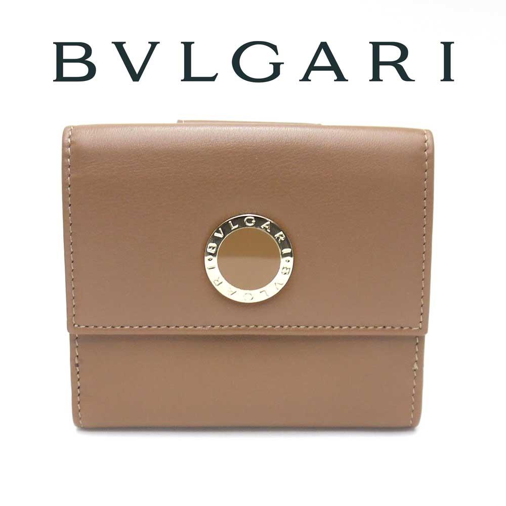 ブルガリ/BVLGARI ダブルホック財布 BB COLORE コローレ 33383 WALNUT:ティースタイル