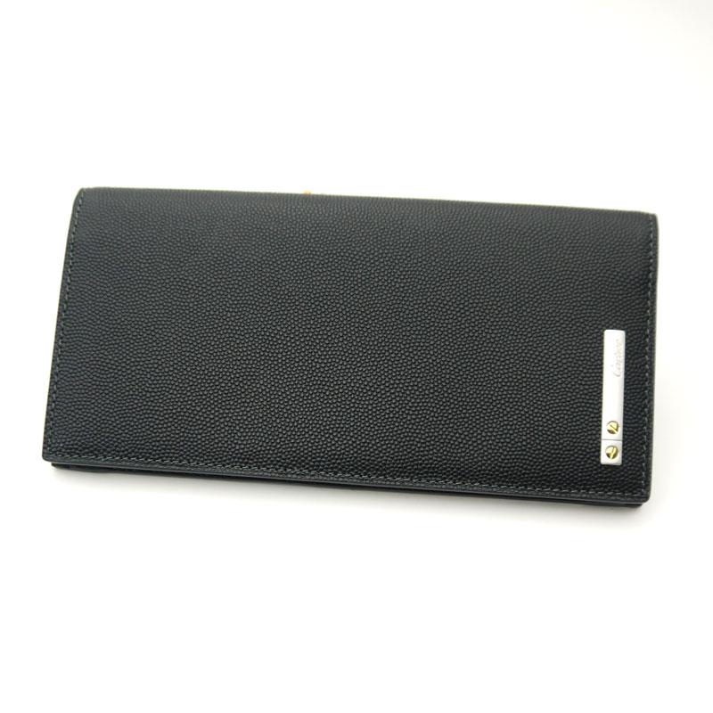 カルティエ/Cartier ・二つ折長財布・サントス オニキス・L3000770:ティースタイル