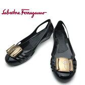 フェラガモ/Salvatore Ferragamo レディース 靴 ラバーシューズ BERMUDA 033711 0495200 ブラック 【即発送可能】