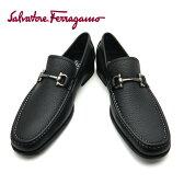 フェラガモ/Salvatore Ferragamo メンズ シューズ 靴 GRANDE NERO ブラック 【即発送可能】