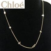 【新品】【即発送可能】クロエ/Chloe ネックレス・ライトゴールドxクリスタル 0589 DB4 093