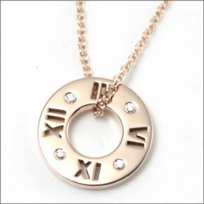 ティファニー/TIFFANY&CO ネックレス アトラス ペンダント スモール ダイヤモンド 16in 18R 30480554:ティースタイル