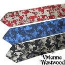 ヴィヴィアンウエストウッド/ VIVIENNE WESTWOOD 新作 ネクタイ 81050004-W001P