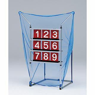 【レンタル・カード決済限定】イベント用対応ストラックアウト ベースボールトレーナー(硬式テニスボール使用限定) B-2203(B2203)レンタル3泊4日(fy16REN07)