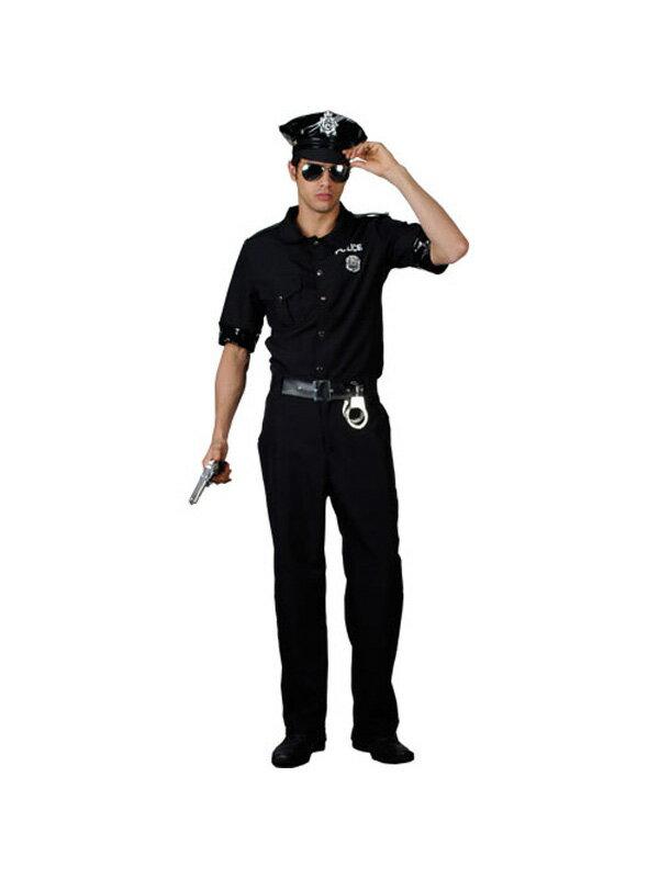 【レンタル・カード決済限定】 コスプレ・アメリカンポリス警官警察・サイズ男性L・3日間(fy16REN07)