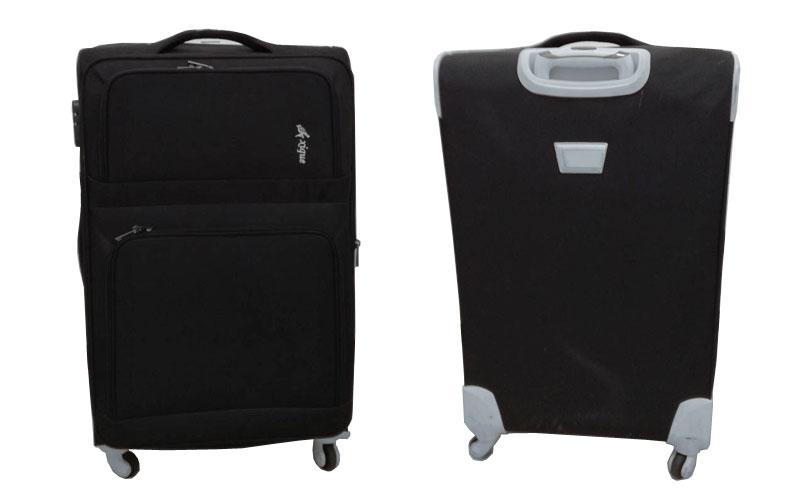 【レンタル】収納たっぷり・旅行用ソフトスーツケース大型(fy16REN07)