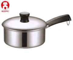 鍋, 片手鍋  18-0 20cm 15020 IHKOINU18-0SUS43002P30May15