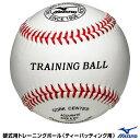 ミズノ(MIZUNO) 1BJBH80000 硬式用トレーニングボール(ティーバッティング用) 野球用品 2021SS