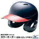 ミズノ 軟式用 つば付きキャッチャーヘルメット [1DJHC202]
