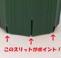のびのび育つ【スリット鉢】18cm(6号)