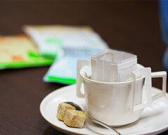 カフェインレスコーヒー豆を挽きたて充填したドリップコーヒー3種類を詰め合わせましたカフェイ...